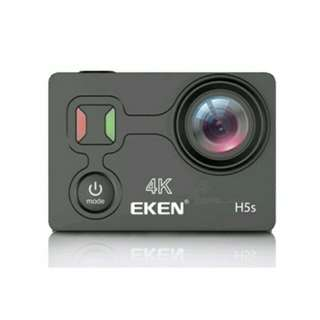 [2017 PREMIUM VERSION] EKEN H5s 4K 30fps Ultra EIS Anti-shake Sport Action Camera 2 Inch Touch Screen With WiFi and Remote Control