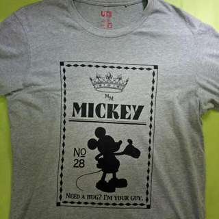 RARE Uniqlo Mickey Mouse Shirt (nego Allowed)