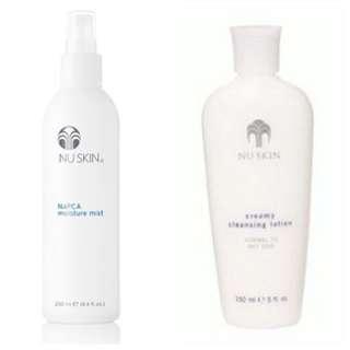 Napca moisture + Creamy cleansing lotion (Smartpac)