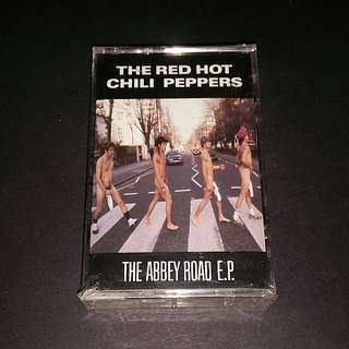 Red hot chilli peppers  (the abbey road ep) rare brand new seal
