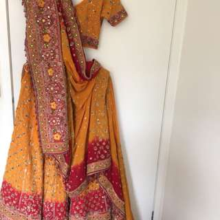 Indian bridal lehenga for hire