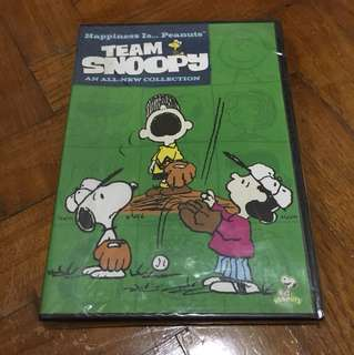 Team Snoopy An All-New Collection DVD