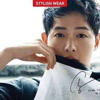 Song Joong Ki poster (송중기)