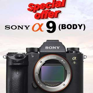 Sony a9 Body limited unit promotion