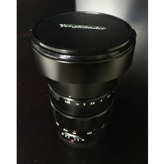 Voigtlander 25mm f/0.95 Mark 1  MFT (Micro Four Third)  Manual Lens