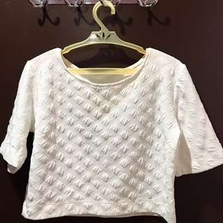 REPRICED‼️ HANGING WHITE BLOUSE
