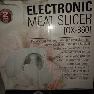 Electronic Meat Slicer Oxone