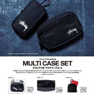 日本雜誌附錄Stusst收納袋套裝 (不連雜誌) 雜誌袋
