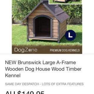 Dog kennel-large