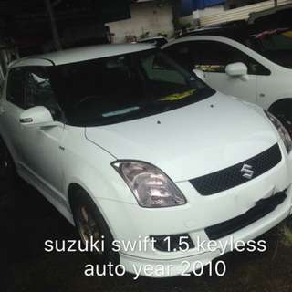 Suzuki Swift 1.5 auto puststart