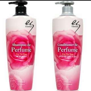 Elastine kiss the rose perfume shampoo or conditioner