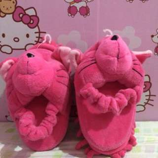 Home slippers with rag