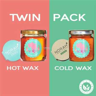 Norah Home Spa cold wax + hot wax