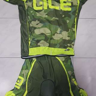 Camo bicycle jersey