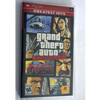 New sealed PSP UMD disc GTA Greatest Hits Liberty City Stories game