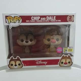 Chip and dale - Funko (Flocked)