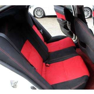 Honda Civic Type R FD2R Red Rear Seat & Door Panel Conversion Set