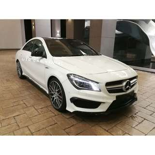 Mercedes Benz CLA45 AMG for rent !!! *HOT*