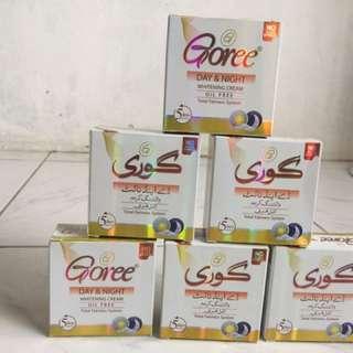 Goree soap and cream