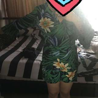 (NEW) summer/floral jumpsuit all size