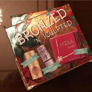 Benefit bronzed and sculpted set