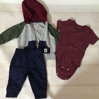 Carters 3 Piece Little Jacket  ( 3 months )