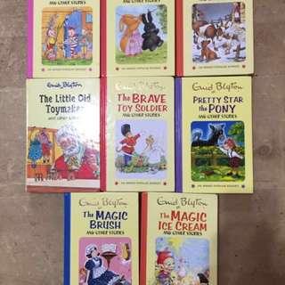 Enid Blyton 8 hard cover books