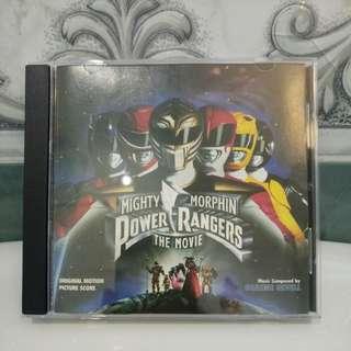 CD Score Mighty Morphin Power Rangers