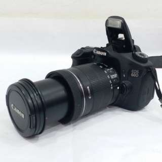 CANON EOS 60D with 18-135mm f/3.5-5.6 IS Zoom Lens