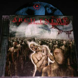 Arch enemy (Anthems or rebellion) cd metal