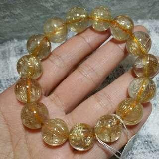 📣特惠✔金髮晶/晶石/手鏈