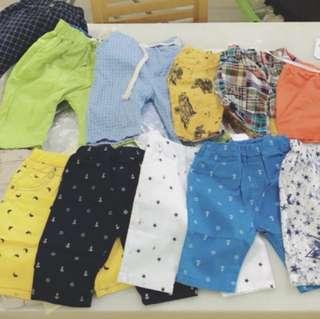 Baby Pants boy shorts