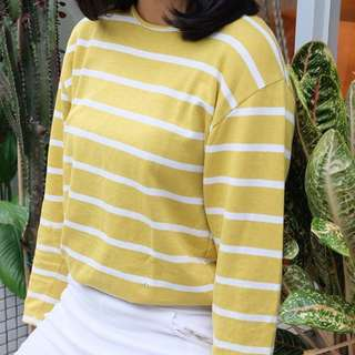 Yellow Stripe Sweater