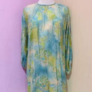 Turquoise Blouse / Dress