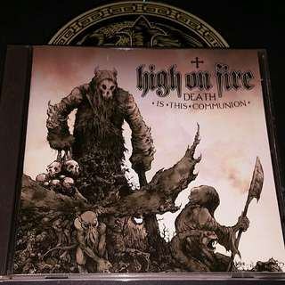High on fire (death is this communion) cd metal