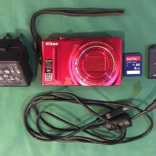 Nikon Camera S9100