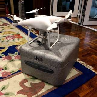 DJI Phantom 4 PRO with 2 extra batteries