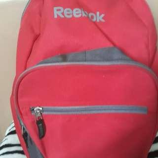 Reebok Red Backpack