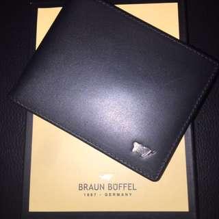 Braun Buffel Money Clip Wallet