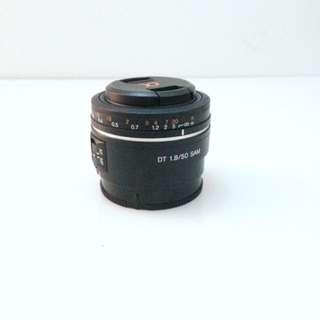 Sony A Mount Lense 50mm f1.8