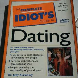 Book The complete idiot's guide to dating