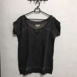 ZARA studded t-shirt