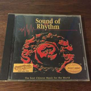 Audiophile sounds of rhythm /topmusic <alloy gold> (first pressing cd) made in USA very rare !