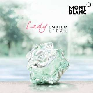 Mont Blanc Lady Emblem L'Eau Body Lotion 100ml