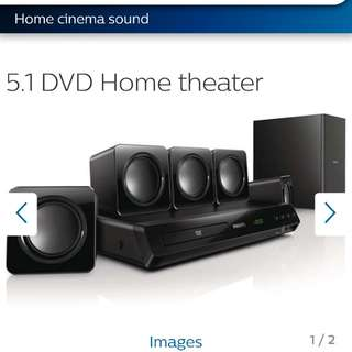 brand new Philips Home Theatre System