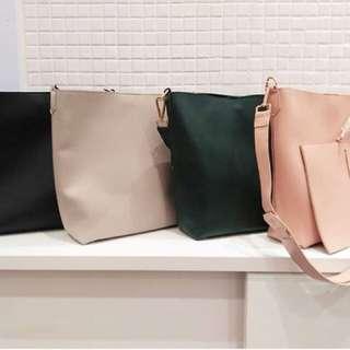 Miniso Bag ( BLACK )