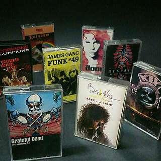 Rock/metal Vintage Cassette Tape