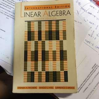 Linear Algebra 4th ed. Friedberg,Insel,Spence