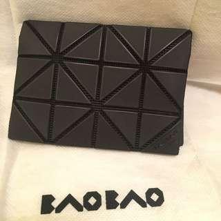 Bao Bao Issey Miyake啞黑色card case 卡包 卡片套