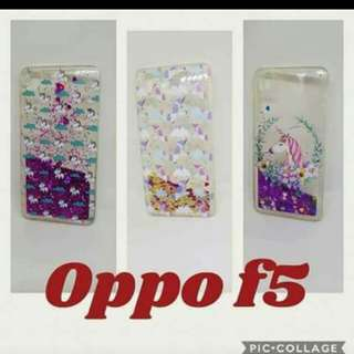✔️BACK CASE ✔️MOVING GLITTERS 👉🏻OPPO F5
